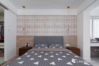 现代简约风格三居卧室装修效果图