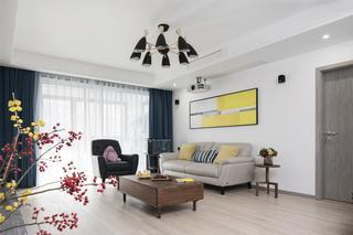 170平现代简约客厅装修效果图