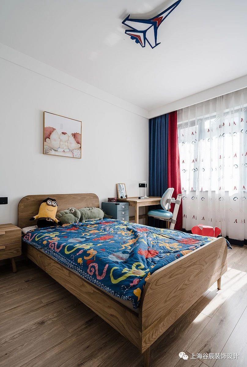 120平三居室儿童房装修效果图