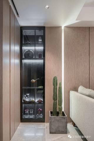现代简约风两居装修展示柜设计