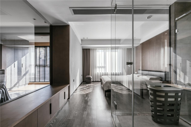 140m²现代风格卧室装修效果图