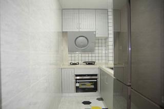 70㎡二居室厨房装修效果图