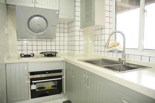 70㎡二居室廚房裝修效果圖