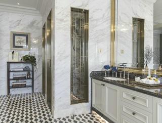 新古典别墅卫生间装修效果图