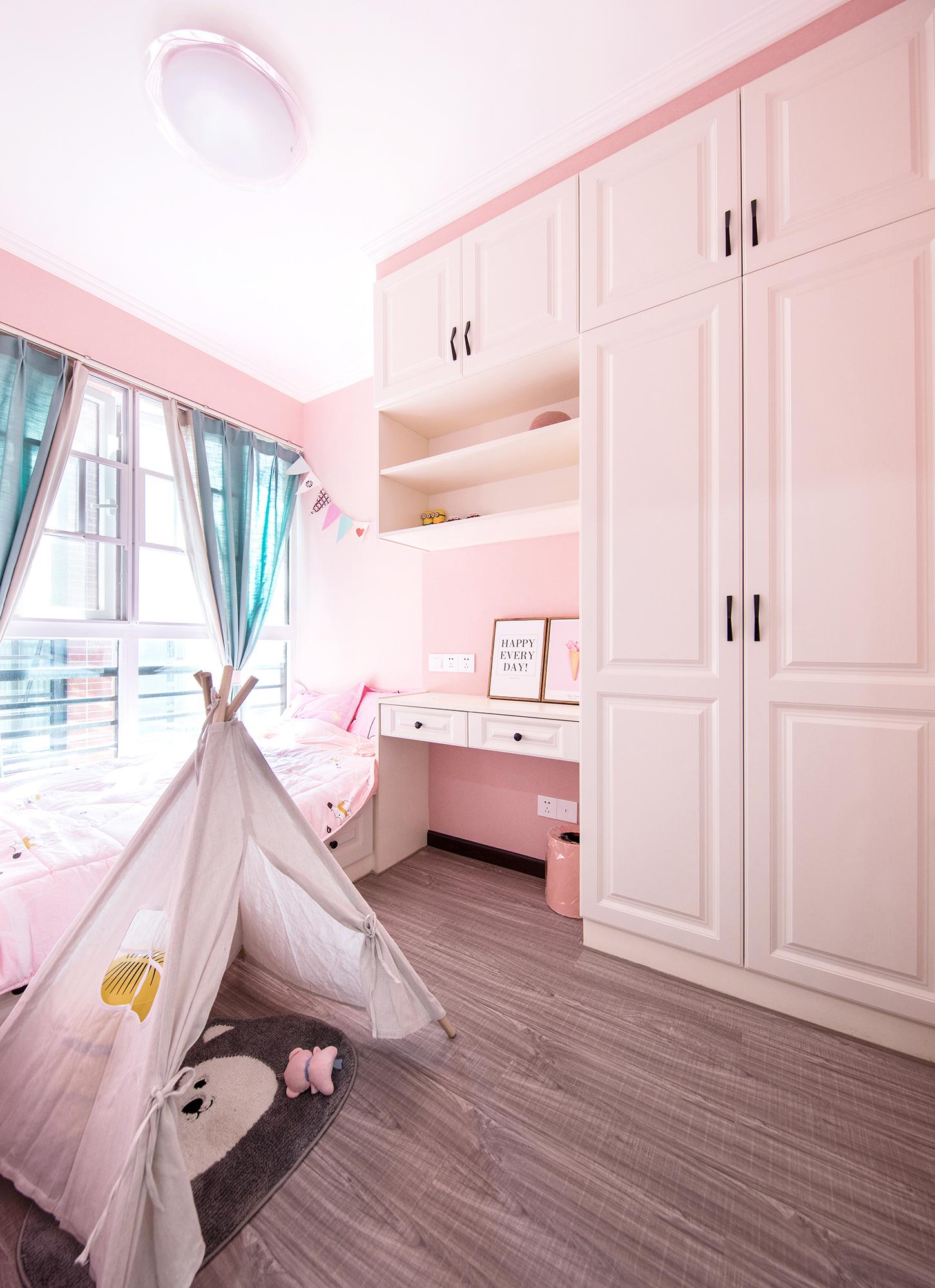 89㎡北欧风格儿童房装修效果图