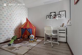 100平现代简约儿童房装修效果图