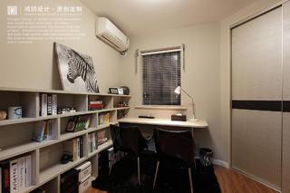 现代简约风格两居书房装修效果图