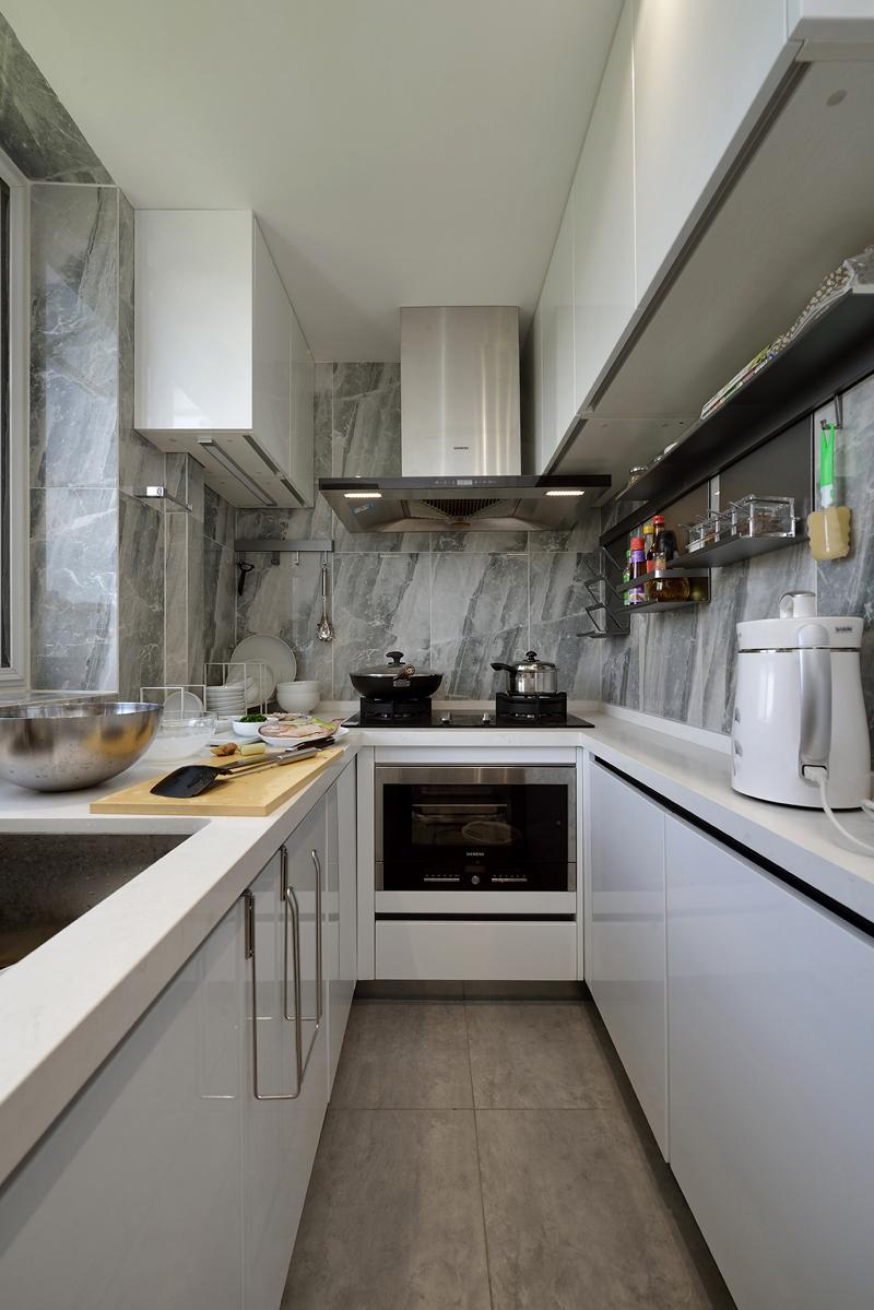 70平二居室厨房装修效果图