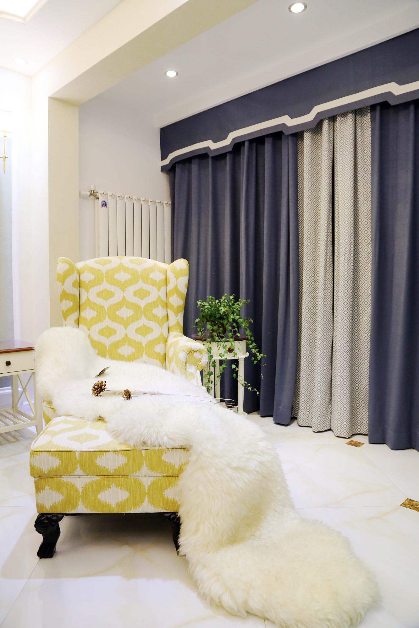 115㎡美式风格装修沙发椅设计