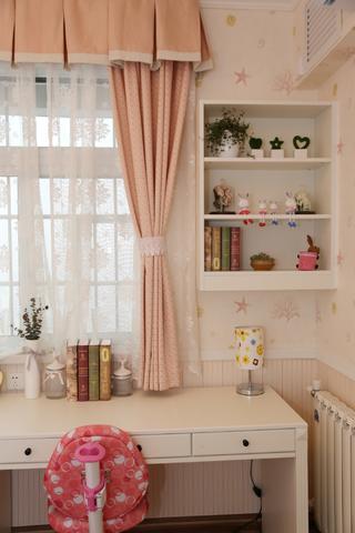 115㎡美式风格装修儿童书桌设计