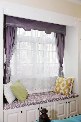 115㎡美式风格装修飘窗设计