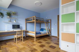 混搭风格别墅儿童房装修效果图