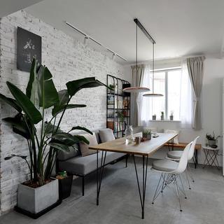 70平二居室装修效果图