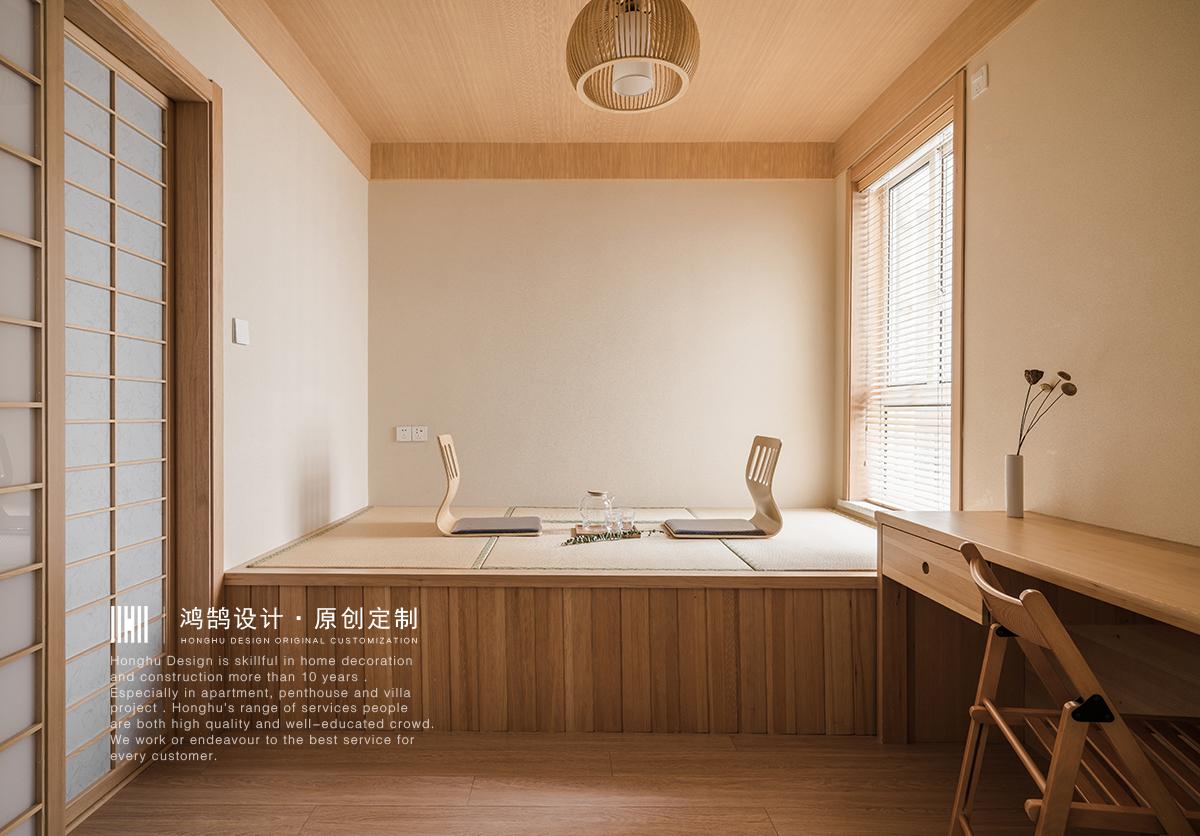 日式风格二居榻榻米装修效果图