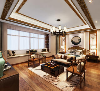 中式别墅卧室每日首存送20