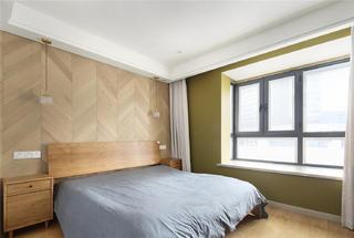 日式风格三居卧室装修效果图