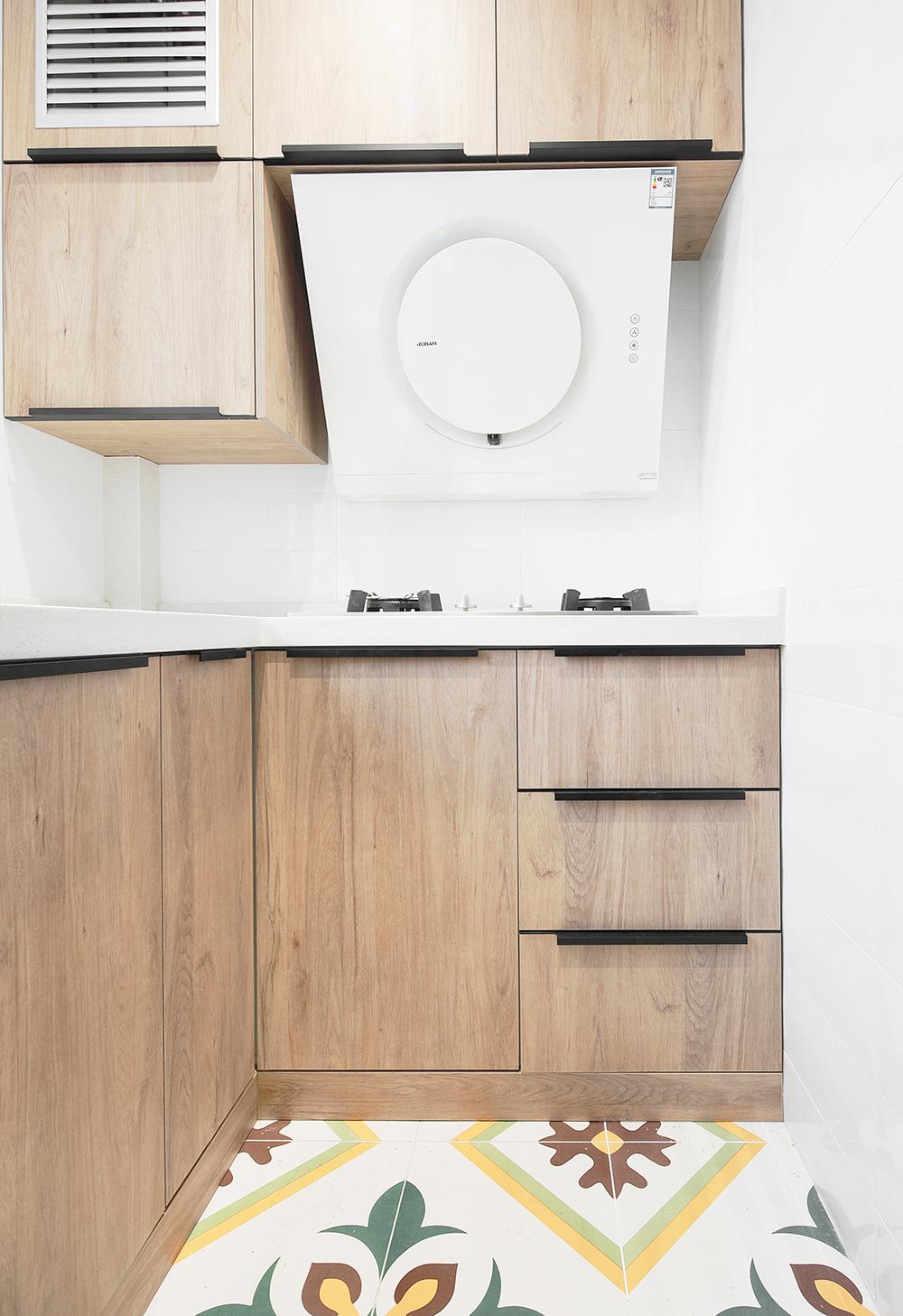 45平小复式装修厨房效果图