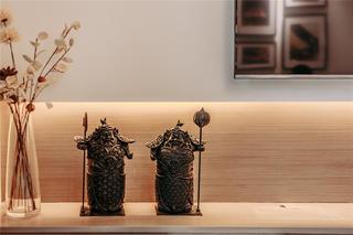 混搭风格三居室装修饰品摆件特写