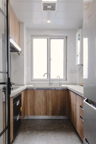 110㎡现代简约厨房装修效果图