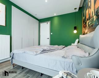 89㎡现代轻奢风卧室装修效果图