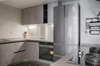 现代风格三居厨房装修效果图