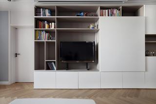 120平三居室电视墙装修效果图