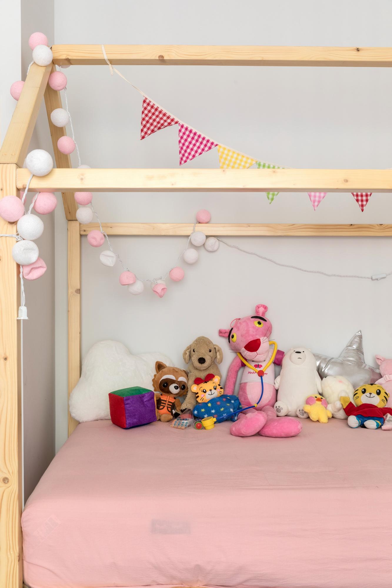 170平美式风格装修儿童床设计