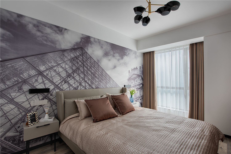 现代三居卧室装修效果图