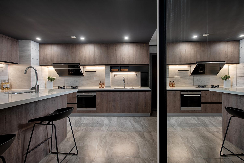 现代三居室厨房装修效果图