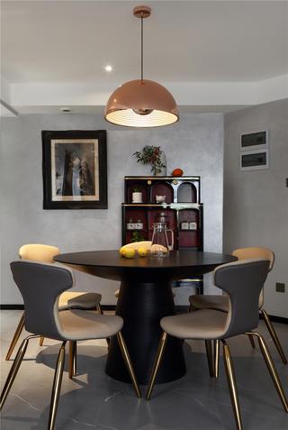 现代混搭三居餐厅装修效果图