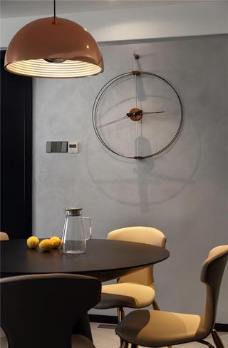 现代混搭三居装修餐厅细节图
