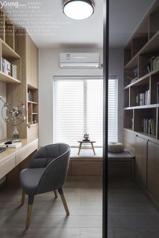 178㎡现代风书房装修效果图
