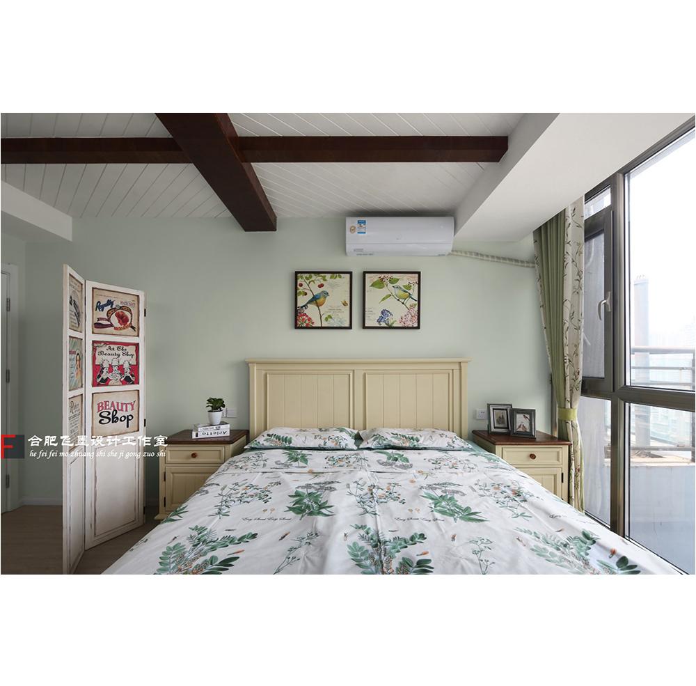 170㎡美式风卧室装修效果图