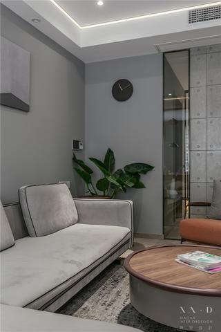 90平米二居装修客厅一角