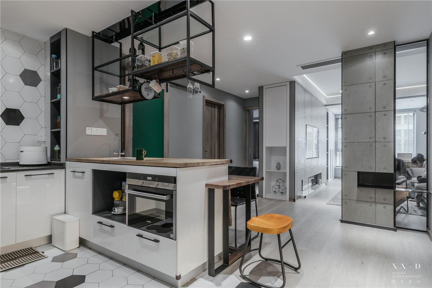 90平米二居厨房装修效果图