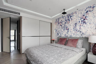 复式现代简约风卧室装修效果图