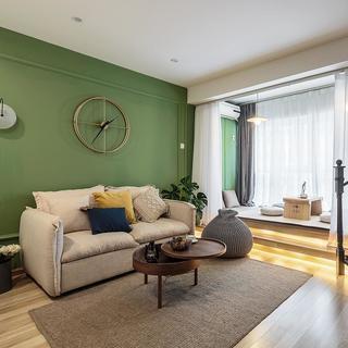 55平米一居室装修效果图