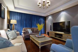 120平米两居室客厅装修效果图