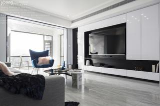 148平现代简约电视背景墙装修效果图