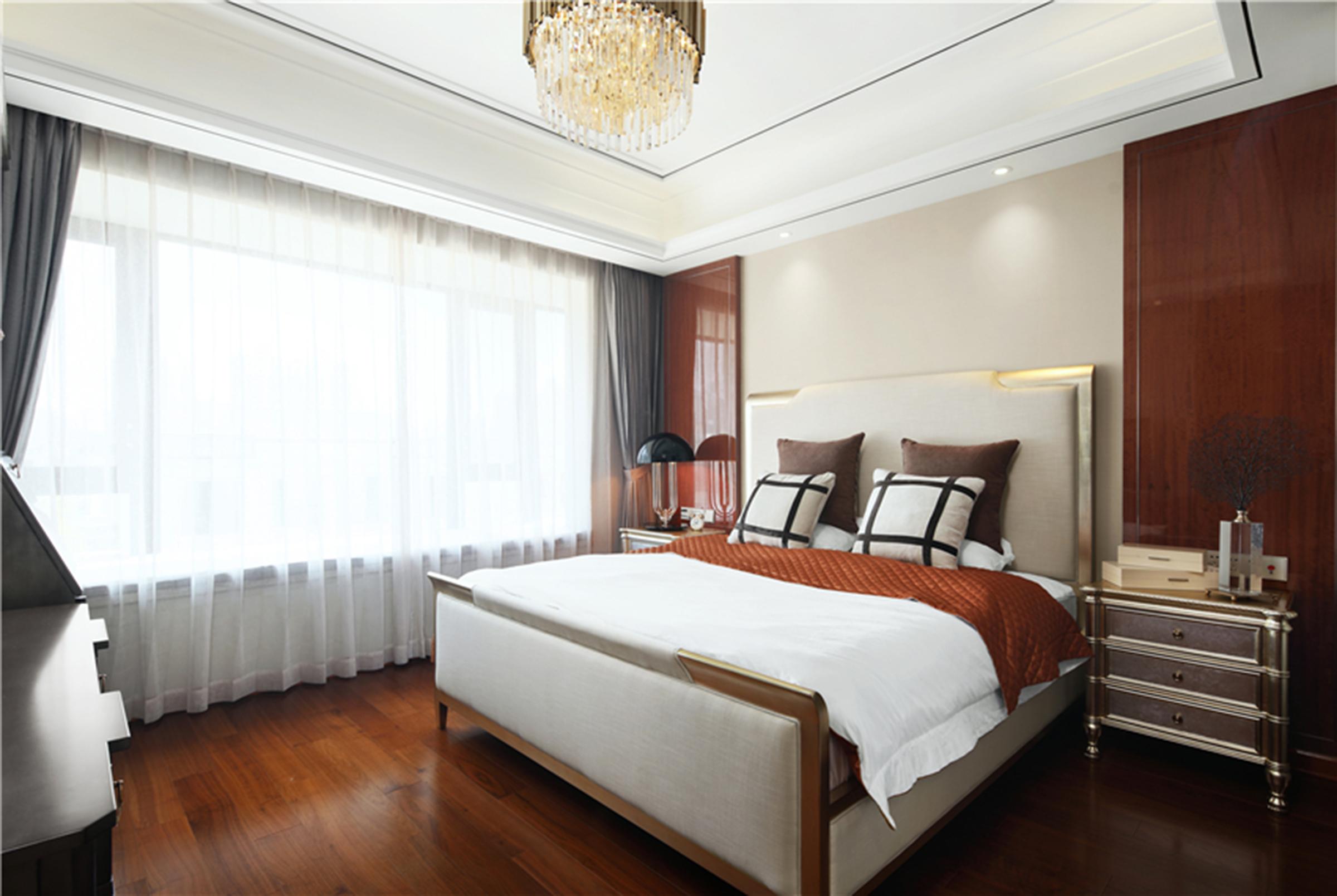 新古典轻奢风卧室装修效果图