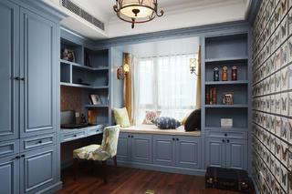 美式风格三居书房装修效果图