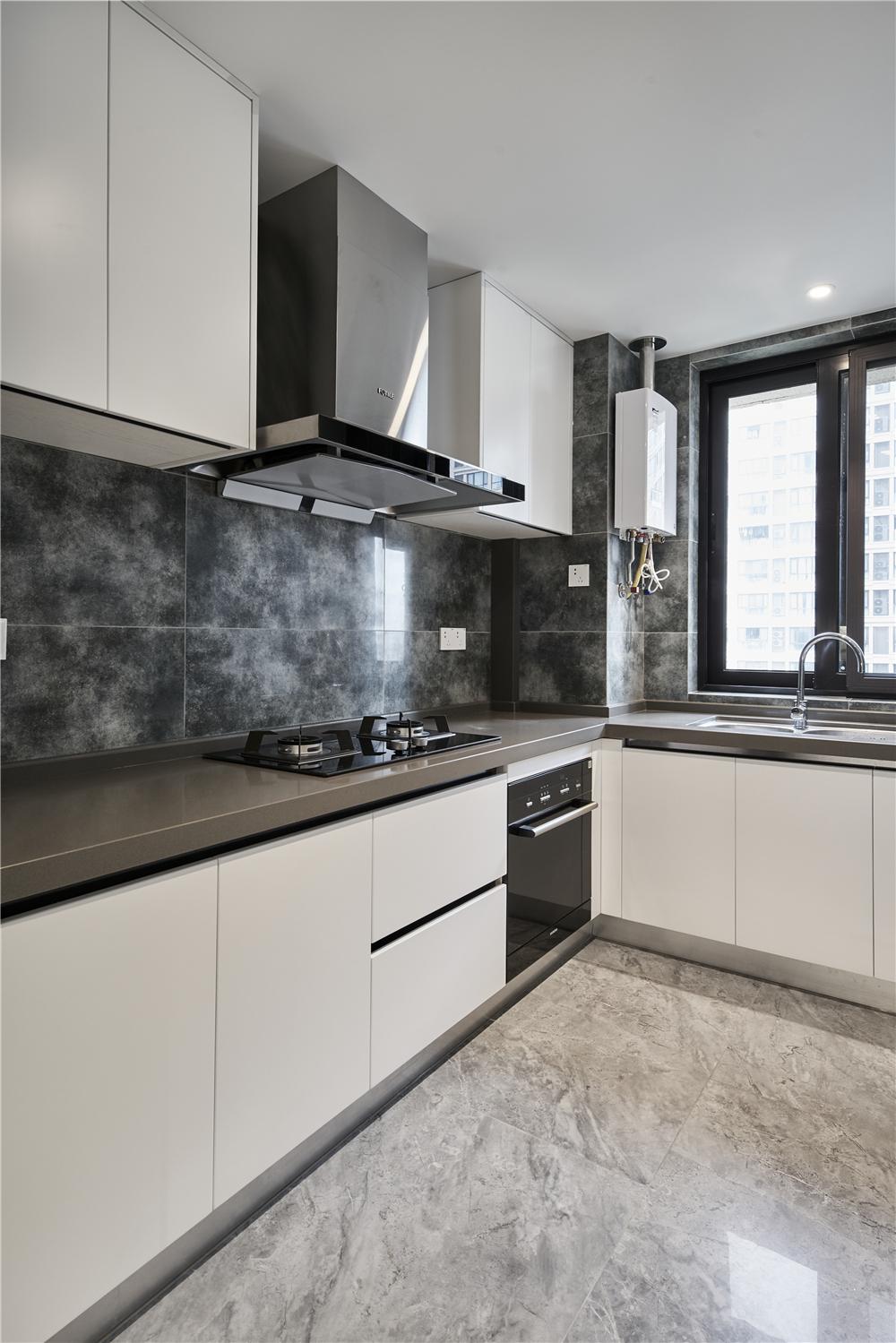 现代风三居厨房装修效果图