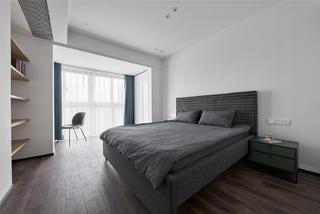220㎡复式现代风卧室装修效果图