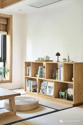 130㎡日式风格装修书架设计