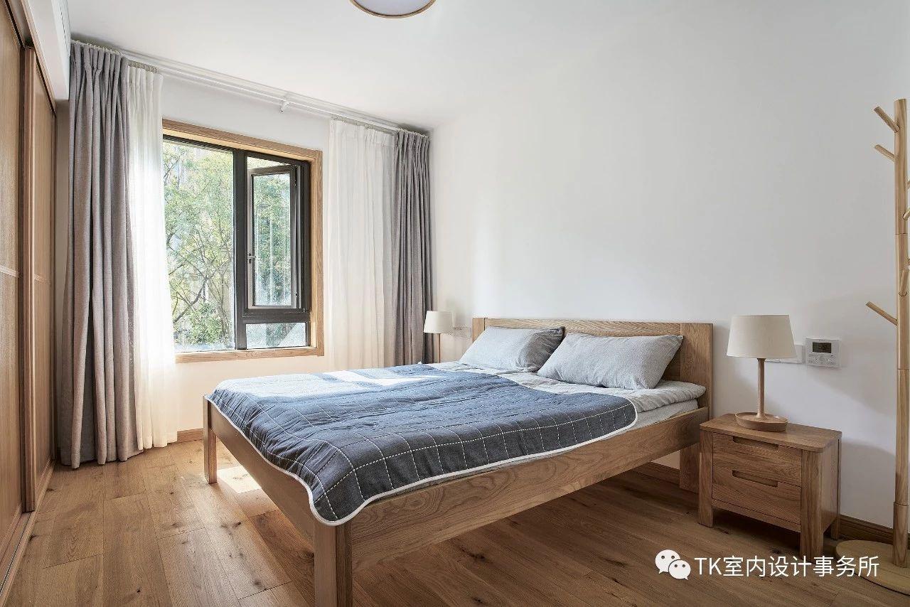 130㎡日式风格卧室装修效果图