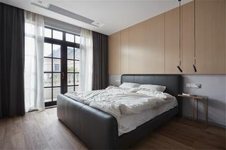 简洁度假风别墅卧室装修效果图