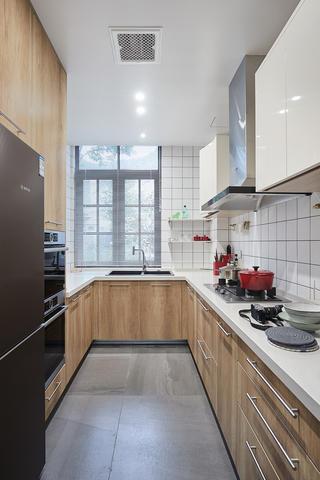 简洁度假风别墅厨房装修效果图