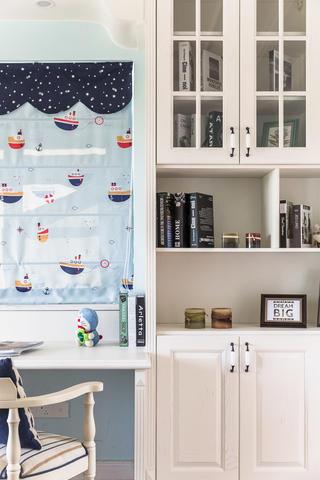 美式别墅装修书桌柜设计