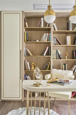 轻奢风三居室书房装修效果图