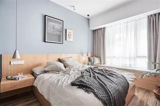 89㎡北欧风格卧室装修效果图